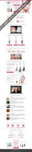 Скриншот Готового лендинга Pobling Sonic Pore Cleanser Color - Щеточки для очистки кожи лица 002